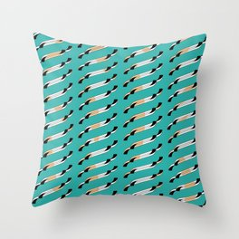 Wisps Throw Pillow