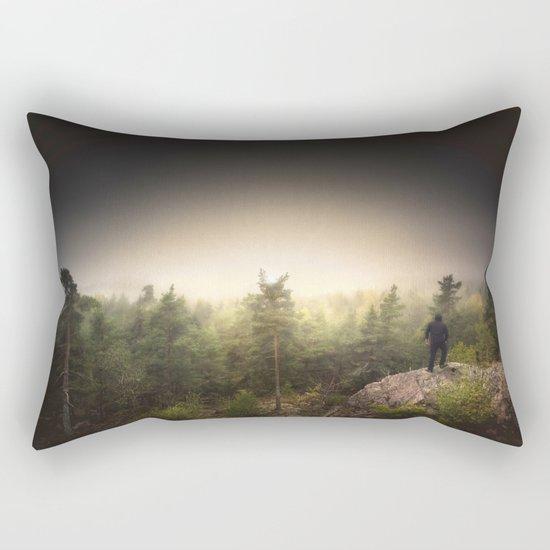 Im happily lost yet again Rectangular Pillow