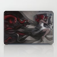 hiphop iPad Cases featuring Oneirology by loish