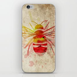 Watercolor Bumblebee iPhone Skin