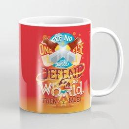 Defend the world Coffee Mug