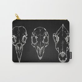 Raven, Rabbit, Wolf - Skulls Carry-All Pouch