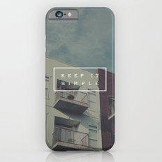 Keep It Simple iPhone 6 Slim Case