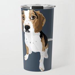 Bernie the beagle Travel Mug