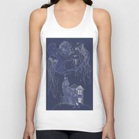 jelly fish Tank Tops featuring Jelly Fish by Jessica Bowman Illustrates