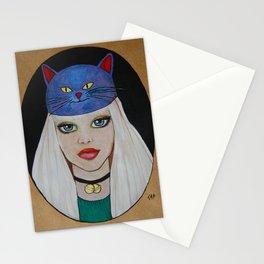Miaw Girl Stationery Cards