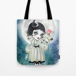 Pierrette Under the Icy Moon Tote Bag