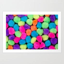 Fuzzy Things Art Print