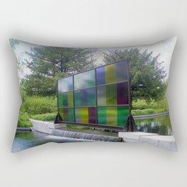 Window Art Rectangular Pillow