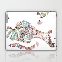 Venice map Laptop & iPad Skin