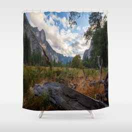 In the Valley. Shower Curtain