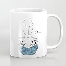 Menina mar Coffee Mug