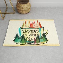 Adventure is Calling You Rug