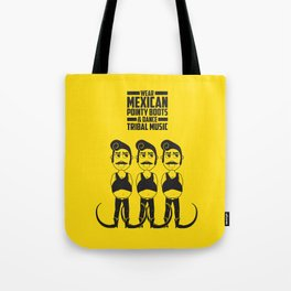 Hector loves tribal music.  Tote Bag