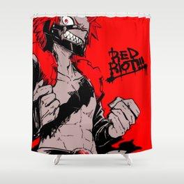 RED RIOT / KIRISHIMA EIJIRO - MY HERO ACADEMIA Shower Curtain