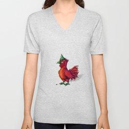 Sriracha Rooster Unisex V-Neck