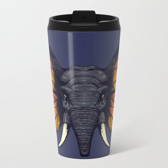Elepfly Metal Travel Mug