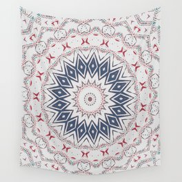 Dreamcatcher Berry & Blue Wall Tapestry
