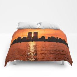 Twin Towers Summer Sky Comforters