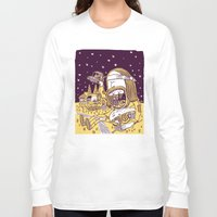 hippy Long Sleeve T-shirts featuring Giant Hippy by Josh Quick