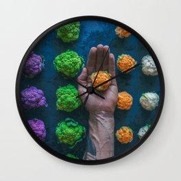 Baby Cauliflower Wall Clock