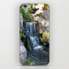 Wisley waterfall iPhone Skin