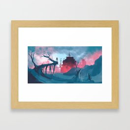 Factory Framed Art Print