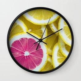 Life's Lemons Wall Clock