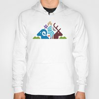 the national Hoodies featuring National Park by Christopher Dina