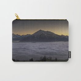 MOUNTAIN PEAKS ABOVE THE FOG Carry-All Pouch