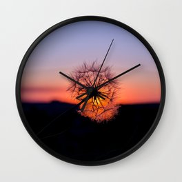 Palouse Sunset Wall Clock