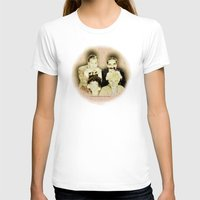 marx T-shirts featuring MARX BROTHERS - 004 by Lazy Bones Studios