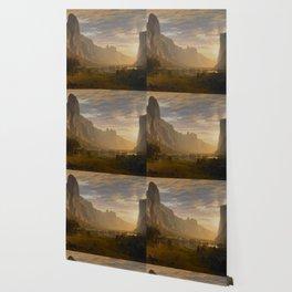 Bierstadt Wallpaper Society6