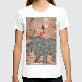 majestic series: rhino's are tough enough T-shirt