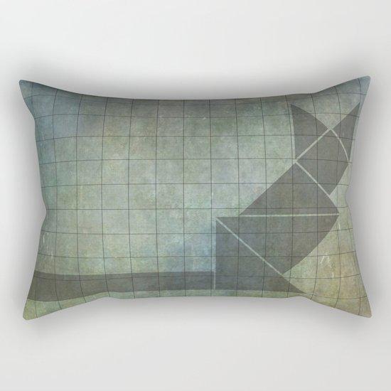 Sphynx cat in geometry Rectangular Pillow