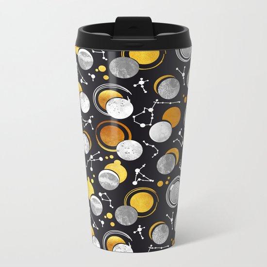 Great Total Solar Eclipse Metal Travel Mug