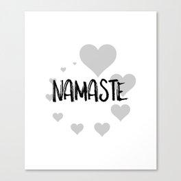 Namaste no.3 Canvas Print