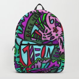 Take Everything I Dare You (Tropical) Backpack