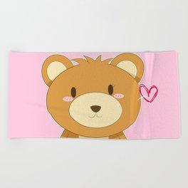 Love My Mama Bear Beach Towel