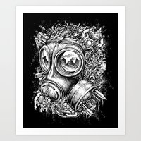 chaos Art Prints featuring Chaos by toto6