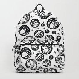 Sketchy Balls Pattern Backpack