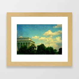 Gold Fades To Gilt Framed Art Print