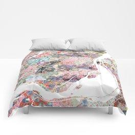 Montreal map canada Comforters