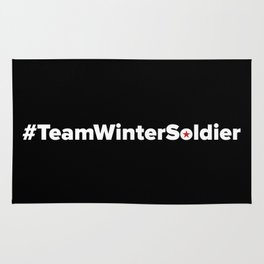 #TeamWinterSoldier Hashtag Team Winter Soldier Rug