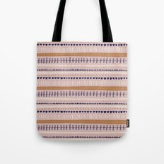 Pink & Orange Pattern Tote Bag