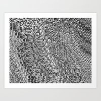 metallic Art Prints featuring metallic by clemm