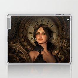 Steampunk Time Keeper Laptop & iPad Skin