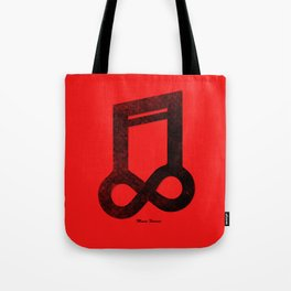 Music Forever Tote Bag