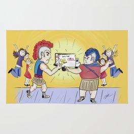 Twinkie Fight Rug