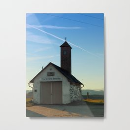 Old traditional firehouse | architectural photography Metal Print